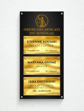 Multi-plaques Triple 06