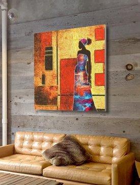 Tableau Canvas 100 x 100 cm