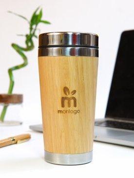 Le Mug Isotherme Bambou
