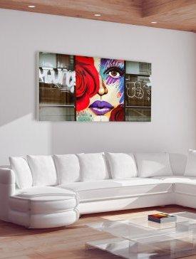 Tableau Canvas 180 x 90 cm