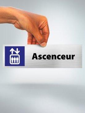 Plaque Ascenceur