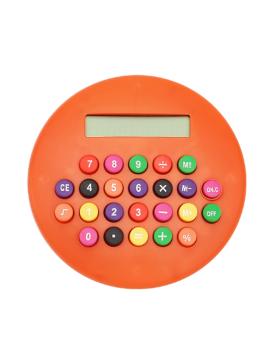Calculatrice Ronde Orange