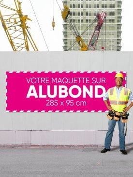 Panneau Alubond XXL ⅓ / 03
