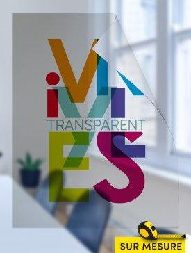Vinyl transparent
