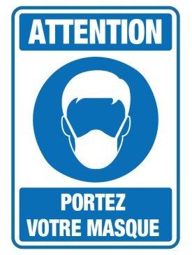 Port de Masque Obligatoire 04