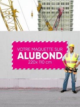 Panneau Alubond XL ½ / 03