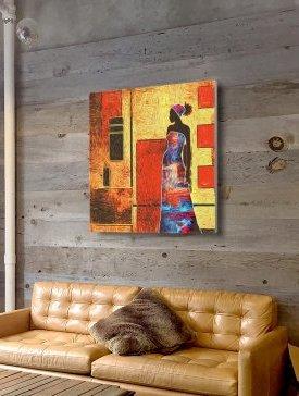 Tableau Canvas 80 x 80 cm
