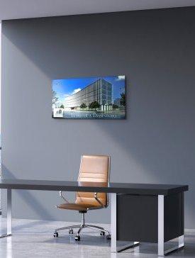 Tableau Alubond 100 x 50 cm