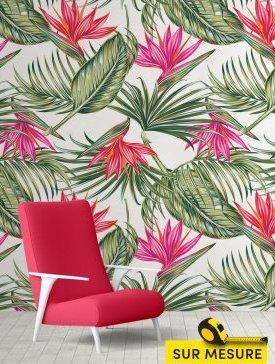 Papier peint saveur tropicale 03