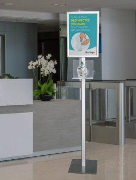 Le Porte-Produit Sanitaire