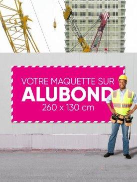 Panneau Alubond XXL ½ / 01