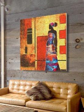 Tableau Canvas 120 x 120 cm