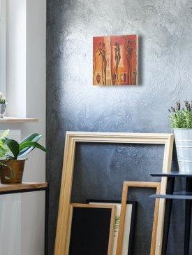 Tableau canvas 40 x 40 cm