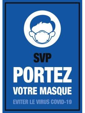 Port de Masque Obligatoire 01