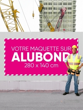 Panneau Alubond XXL ½ / 02