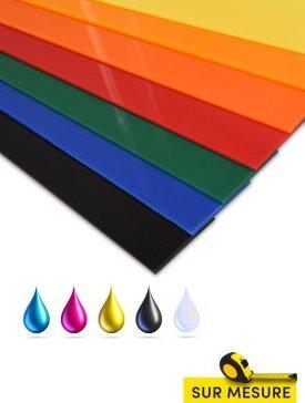 Plexi couleur