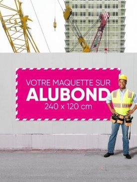 Panneau Alubond XL ½ / 04