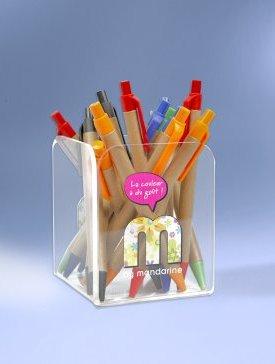 Le Pot à Crayons Cubique