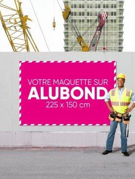 Panneau Alubond XXL ⅔ / 01
