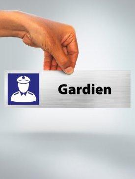 Plaque Gardien