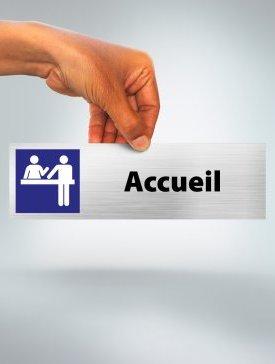 Plaque Accueil