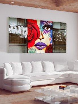 Tableau canvas 240 x 120 cm