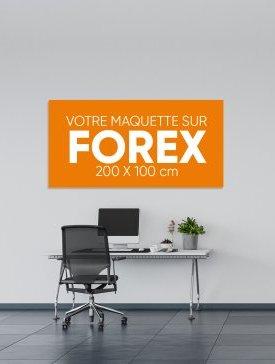 Panneau Forex XL ½ / 02