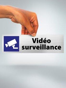 Plaque Vidéo Surveillance