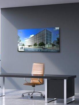Tableau Alubond 140 x 70 cm