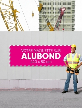 Panneau Alubond XL ⅓ / 04