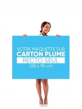 Panneau Carton Plume L ¾ / 02