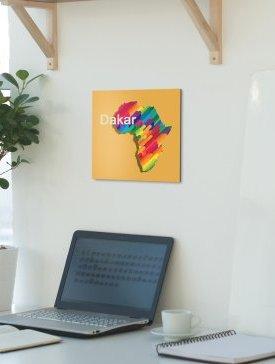 Tableau Alubond 40 x 40 cm