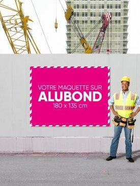 Panneau Alubond XL ¾ / 01
