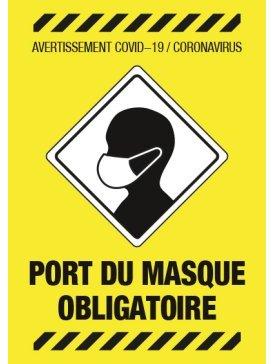 Port de Masque Obligatoire 02