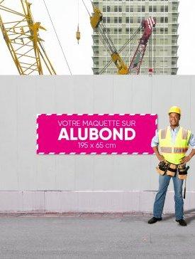Panneau Alubond XL ⅓ / 01