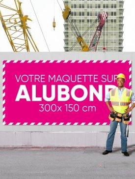 Panneau Alubond XXL ½ / 03