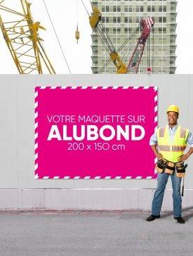 Panneau Alubond XL ¾ / 02