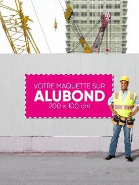 Panneau Alubond XL ½ / 02