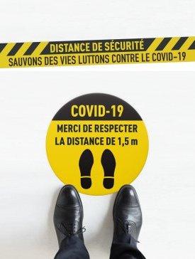 Kit n°3 / Sticker Sol Covid-19