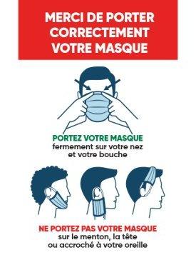 Port Correct du Masque 02