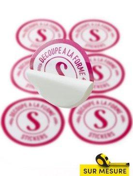 Stickers en vitrophanie