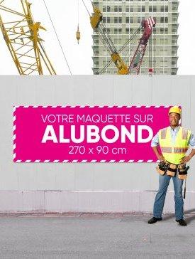 Panneau Alubond XXL ⅓ / 02