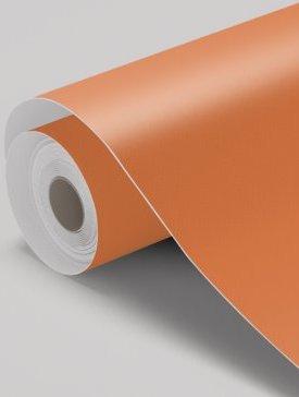 Vinyl orange mat