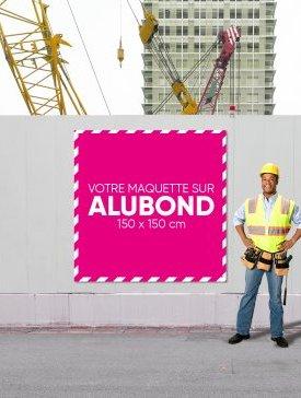 Panneau Alubond XL Carré 04