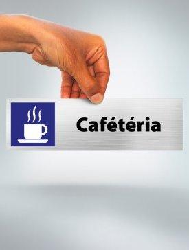 Plaque Cafétéria