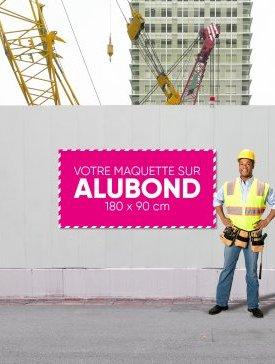 Panneau Alubond XL ½ / 01