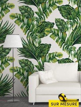 Papier peint saveur tropicale