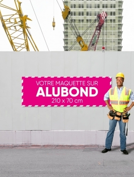 Panneau Alubond XL ⅓ / 02