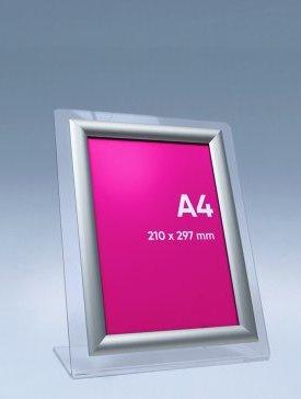 Porte-affiche avec cadre A4