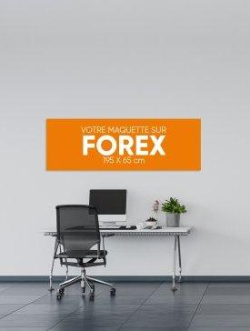Panneau Forex XL ⅓ / 01